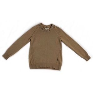 Burberry London camel cashmere chain sweater small